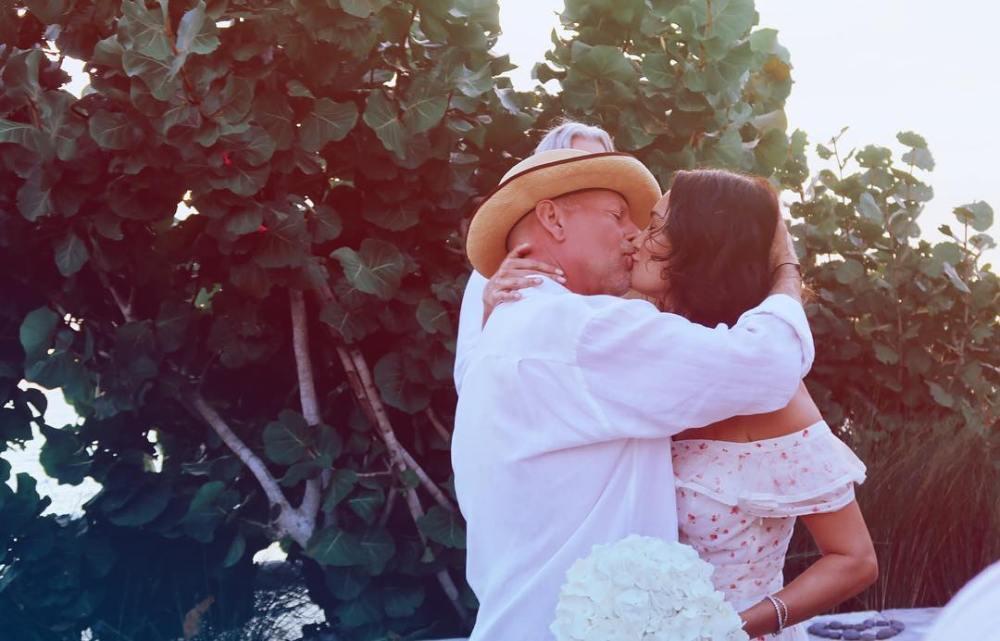 64-летний Брюс Уиллис снова женился! Фото