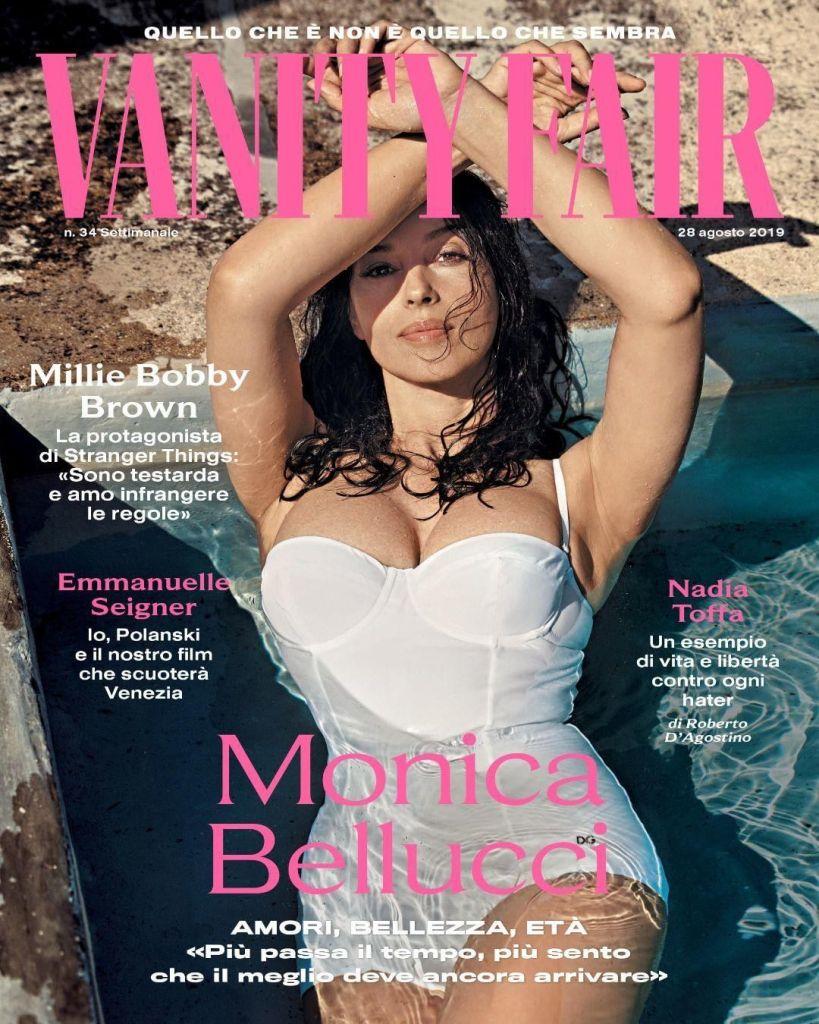 54-летняя Моника Беллуччи впечатлила формами в белом купальнике — фото