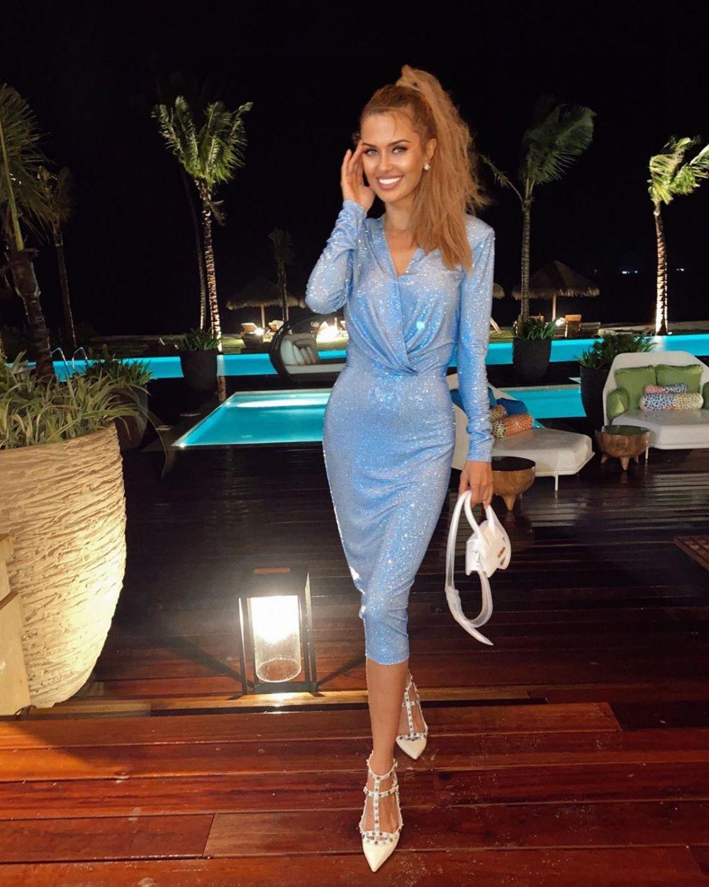 Виктория Боня отметила 40-летие с танцующим миллионером