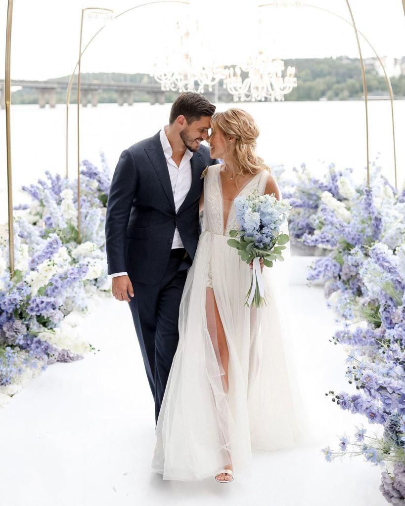 Экс-Холостяк отгулял свадьбу с победительницей проекта