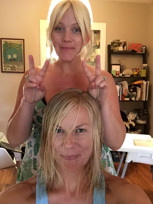 My hair magician, Amber Jean