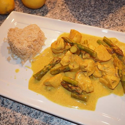 Chicken & Coconut Curry…