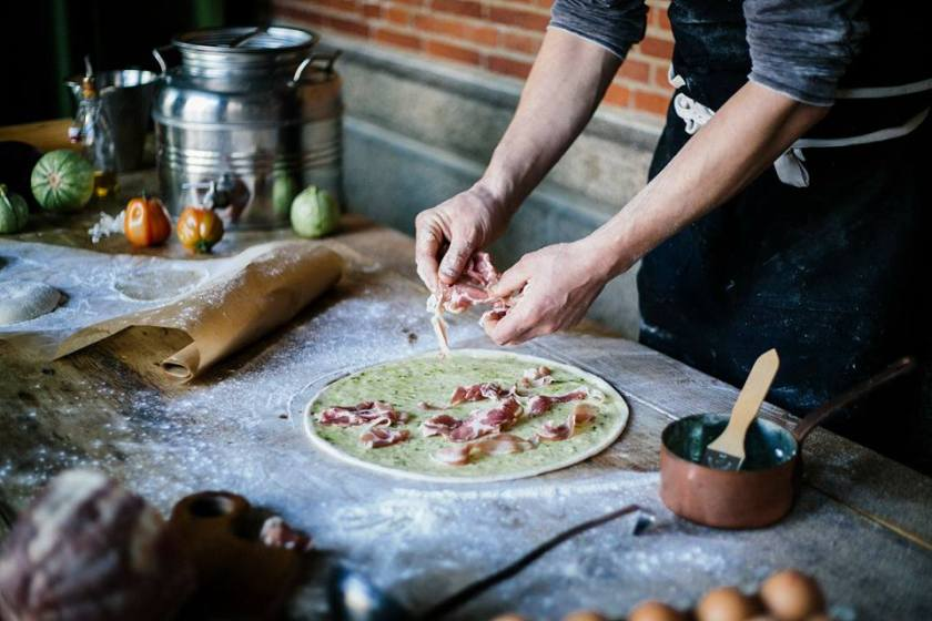 Immer wieder neu: die Pizza des Monats (Foto: City Hall)