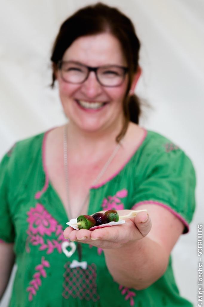 Katrin Rembold als Foodblogger für Nergi® auf dem Gourmet Festival in Düsseldorf