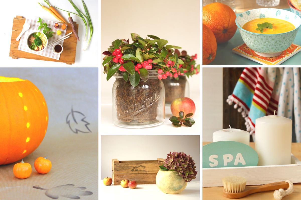 DIY-Ideen und Rezepte für den Herbst
