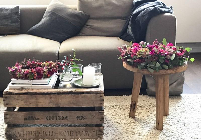 Ein Workshop rund um schöne Blumen