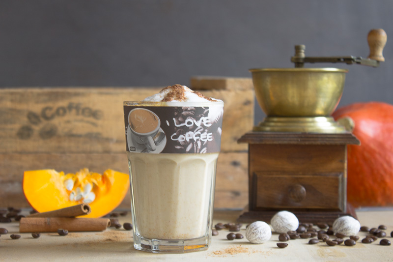 Pumpkin Spice Latte: heute mal mit Baileys!
