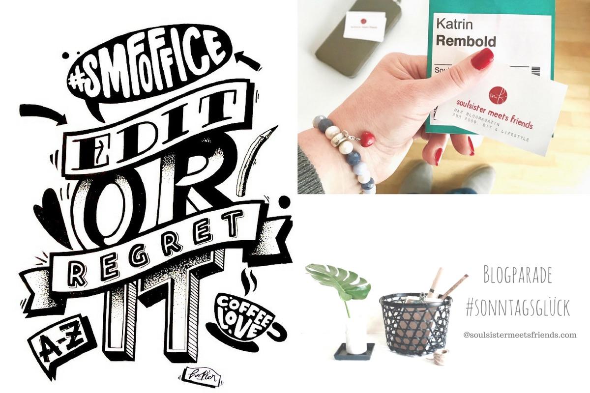 Blogparade #sonntagsglueck: Netzwerken für Blogger