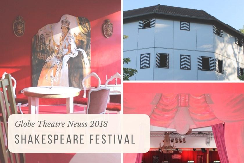 Shakespeare Festival in Neuss 2018: ein echtes Theater-Erlebnis!