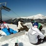 técnicas de snowboard