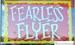 "Naturally, a ""Fearless Flyer"" — May 16, 2017"
