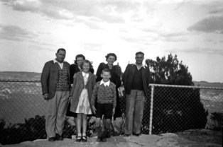 Family visits c1930's