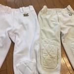 野球ズボンの膝パッドを縫い付けるなら!ZETT製がオススメ!