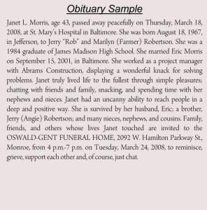 Old Obituary