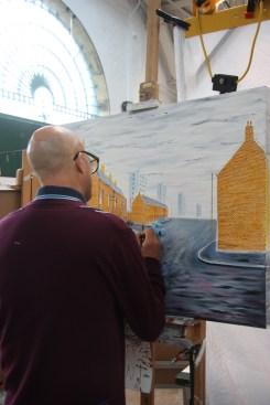 St George's Market painter