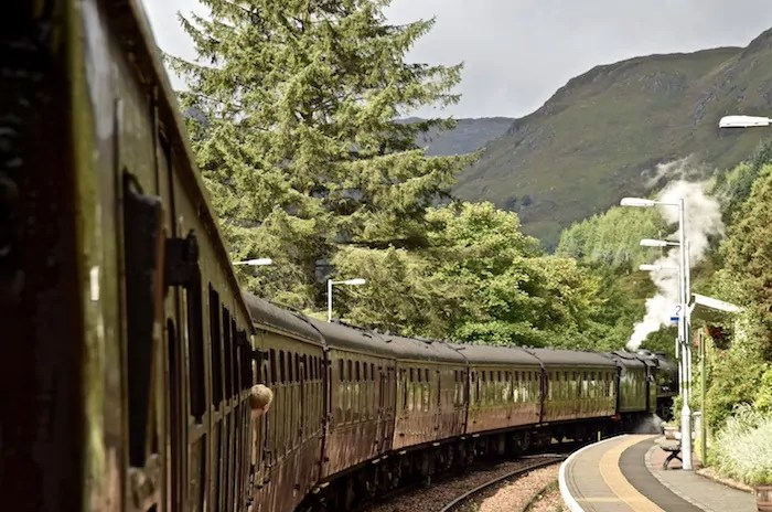 London to Fort William by train on the Caledonian Sleeper Train