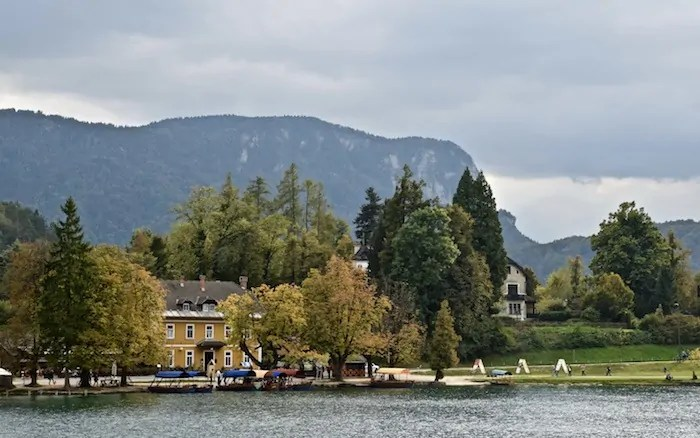 Eco friendly travel in Slovenia: Lake Bled.