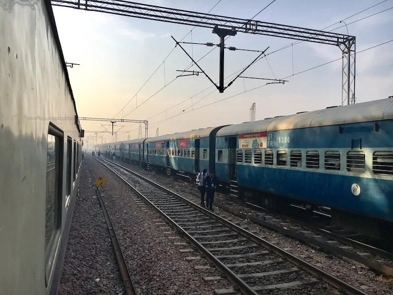 Planning train travel India for foreigners