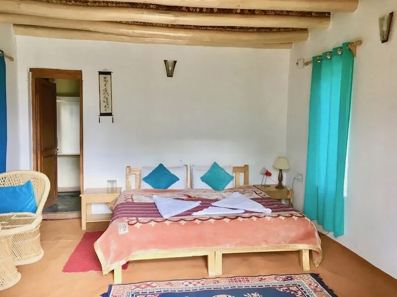 Rooms at Nubra Ecolodge