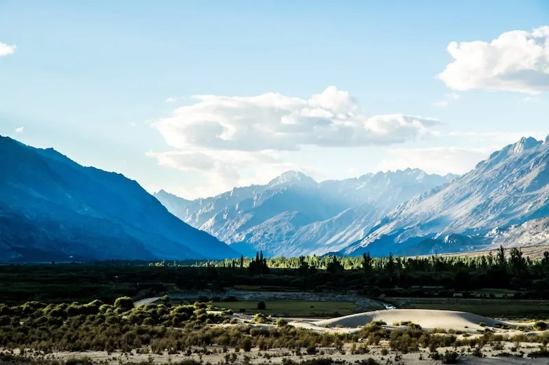 Views from Nubra Ecolodge