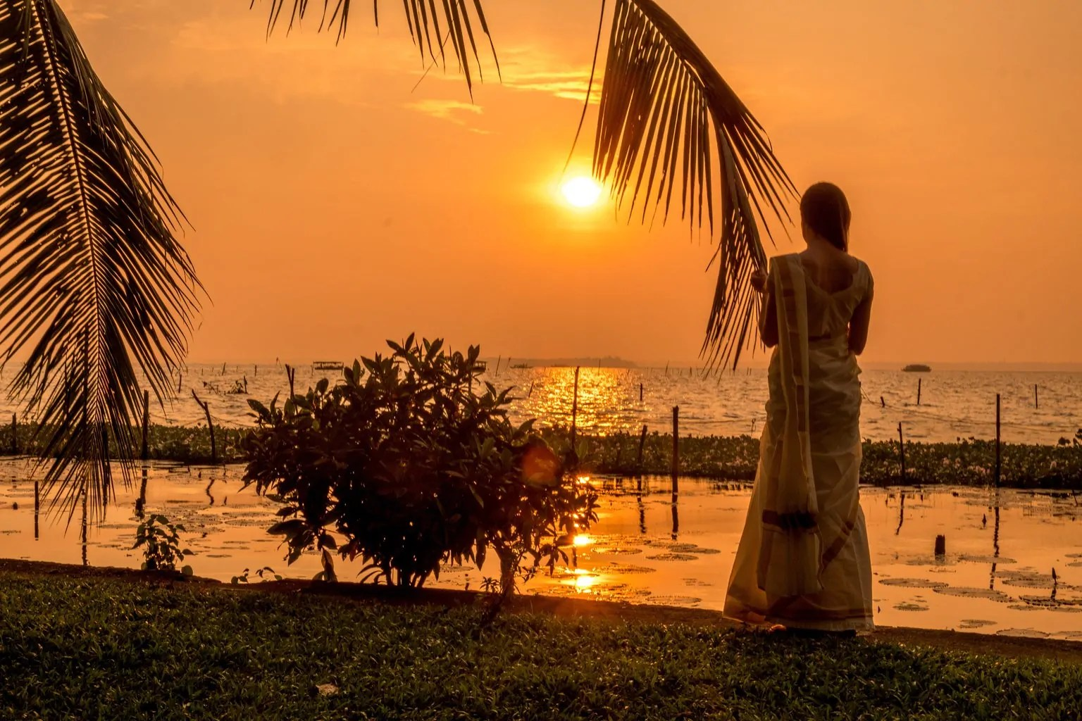 responsible tourism Kumarakom at coconut lagoon kerala