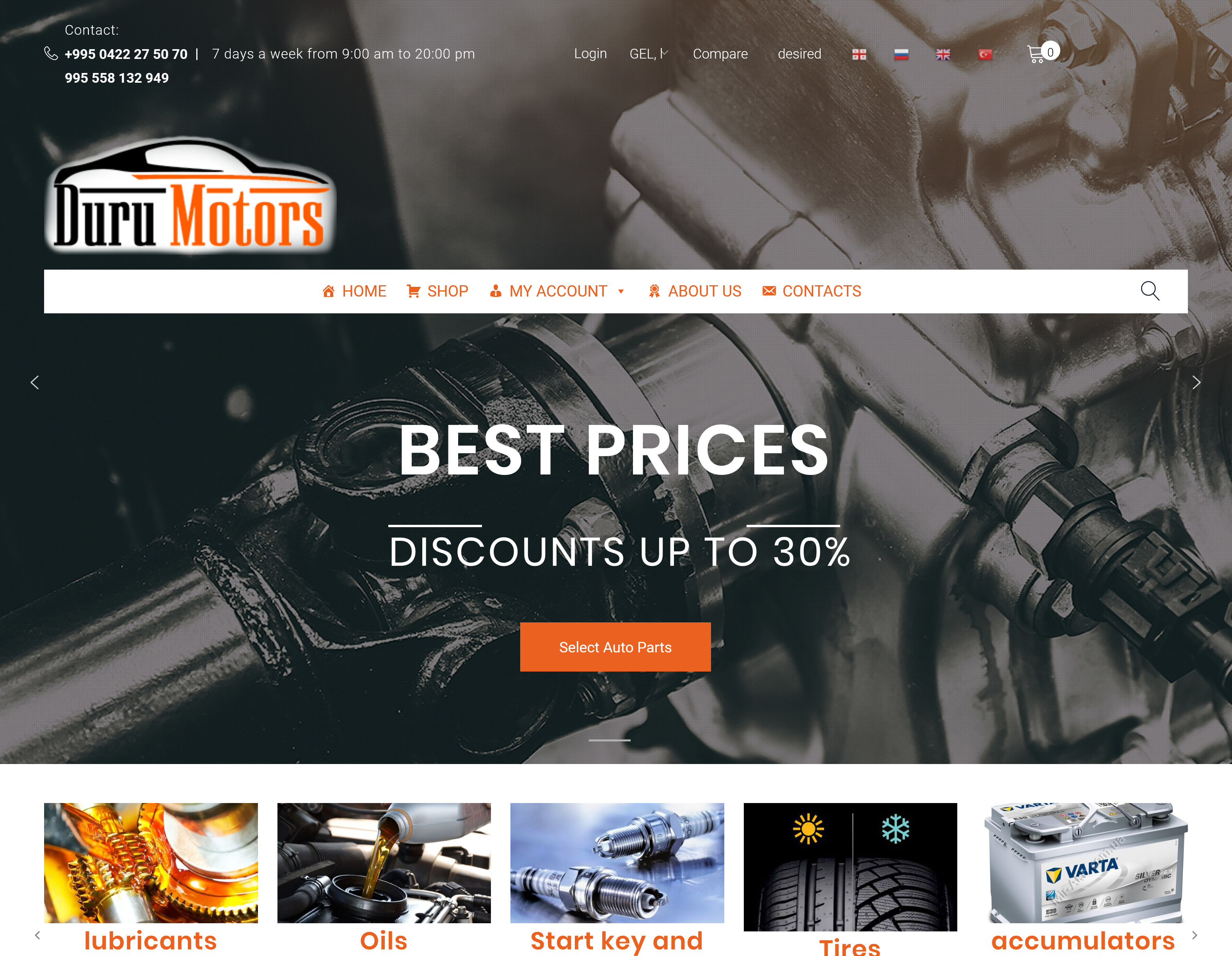 Duru Motors – Cars Part and Service in Batumi