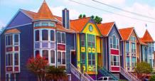 colorful-houses-in-white-oak-bayou-houston