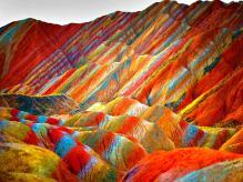 Zhangye Danxia Landform Geological Park, China2