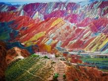 Zhangye Danxia Landform Geological Park, China3