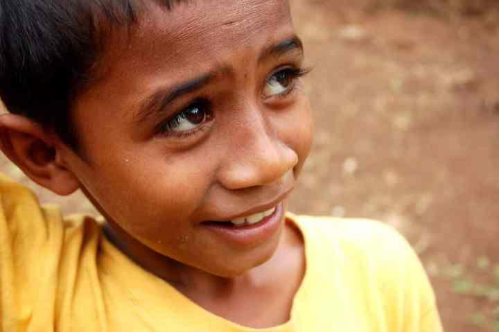 Fijian boy - Photo by Alex Kehr