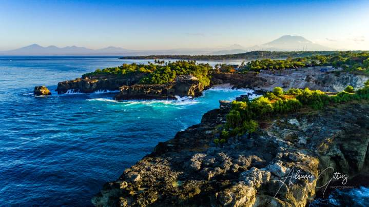 blue lagoon, nusa ceningan, bali, indonesia,