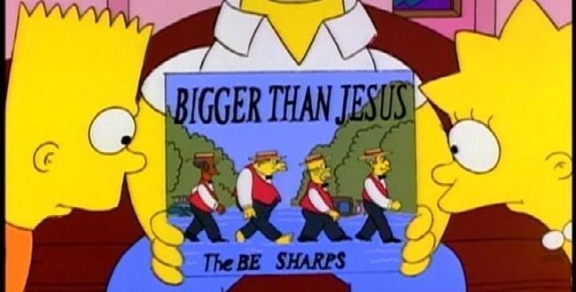 Jesús out; The beatles in: según Lennon