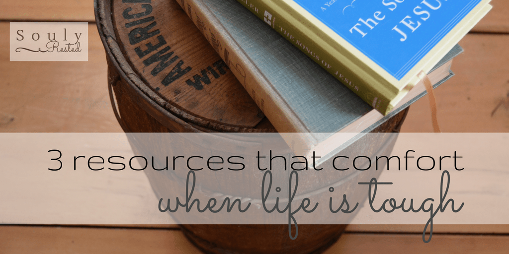 3 resources that comfort
