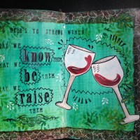 Art journal #9 Strong Women