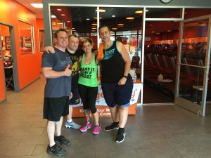 My #DCBC peeps came to OTF and worked out with me this week.