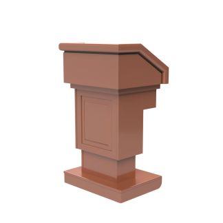 solid hardwood lectern