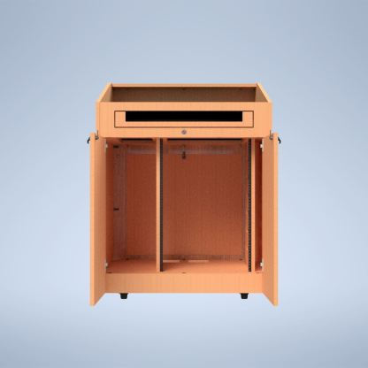The Presenter with Rack Rails purchase a podium online