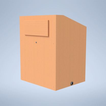 The Presenter with Solid Hardwood Logo purchase a podium online