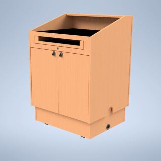 The Presenter with Height Adjustment Raised purchase a podium online