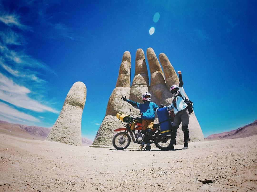 Путешествие на мотоцикле по Чили, часть 1