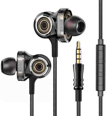 OBB Tangle-fee Earbuds with Smart Controls (Reviewed)