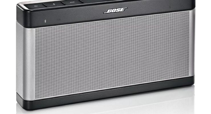 Bose SoundLink III Bluetooth Speaker