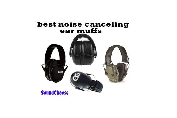best noise canceling ear muffs review