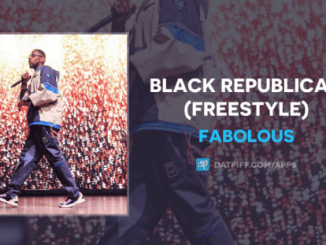 Fabolous – Black Republican (Freestyle)Download Mp3 320kbps