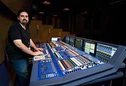 pierre dupree with mixing board