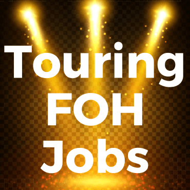 Do you want a job as a touring FOH sound engineer? You need to hear this.