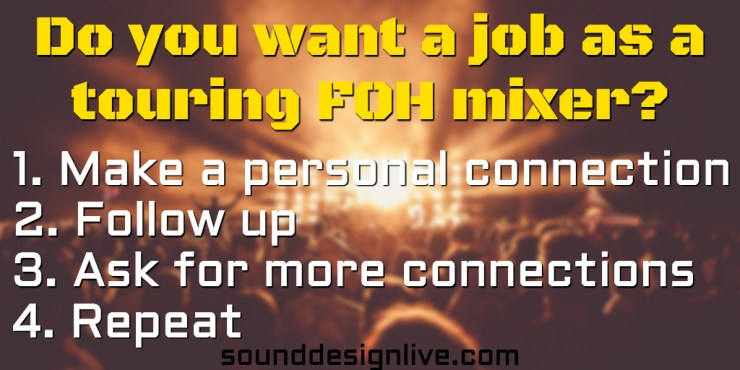 sound-design-live-touring-foh-sound-engineer-job-networking-twitter