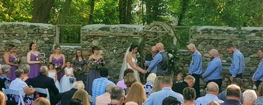 Wedding ceremony of Adrianna and Josh Ryerse, September 21, 2019 (photo by Sound Dynamix DJ Services, www.sounddynamix.ca)