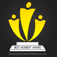 🦅 SoundEagle in Best Moment Award from Moment Matters 🔖🏆