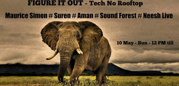 Sound Forest deejaying techno at figure it out, Zsofies, Singapore on 10 May, 2015 along with Maurice Simon, Suren, Neesh Live, Jonny Vicious and Ryan Patrick